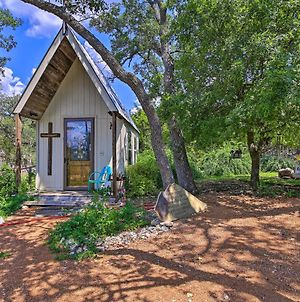 'White Chapel' Cozy Kerrville Cottage On 6 Acres! photos Exterior