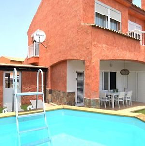 Family Villa Majorera - Wifi, Private Pool, Bbq & Sun Terrace - Suitable For Families By Holidays Home photos Exterior