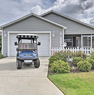 Updated Villages Cottage With Golf Cart Access! photos Exterior