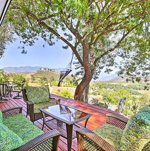 Hilltop Home In Wine Country With Hot Tub And Views! photos Exterior