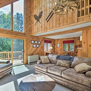 Sunny Mountain Chalet With Hot Tub Ski And Hike! photos Exterior