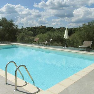 Farmhouse In Front Of Siena, With Pool photos Exterior