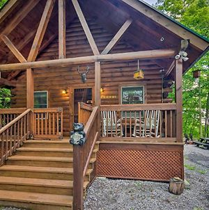 Maggie Valley Cabin With Fire Pit - 4Mi To Trails photos Exterior