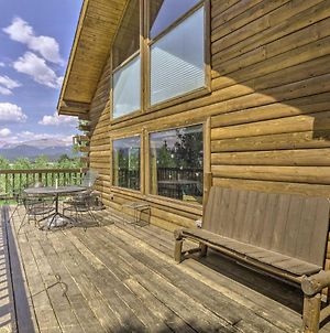 Rustic Backcountry Cabin With Views 1Mi To Fairplay! photos Exterior