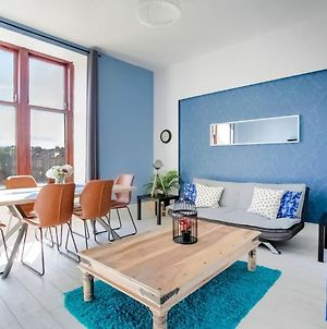 Bright Apartment In Glasgow Near Paisley West End photos Exterior