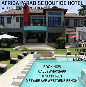 Africa Paradise - Or Tambo Airport Boutique Hotel photos Exterior