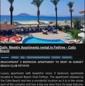 Sunset Beach Club Apartments.Daily Weekly Apartments Rental In Fethiye photos Exterior