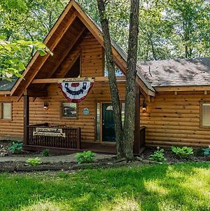 Premium Log Cabin Vacation Experience, Hottub,Firepit, Woods Ozark Preserve photos Exterior