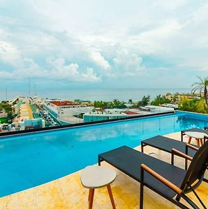Studio With Ac Kitchen Pool Gym And Rooftop View Of The Caribbean photos Exterior