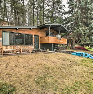 Flathead Lake Waterfront Cabin With Dock, Kayaks photos Exterior