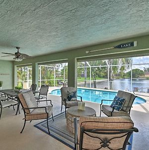 Canalfront Cape Coral Escape With Pool, Dock And Kayaks photos Exterior