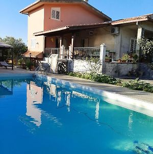 Villa With One Bedroom In Augusta With Wonderful Mountain View Shared Pool And Enclosed Garden 8 Km From The Beach photos Exterior