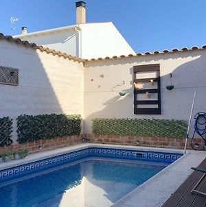 Villa With 4 Bedrooms In Mota Del Cuervo With Wonderful City View Private Pool Enclosed Garden photos Exterior
