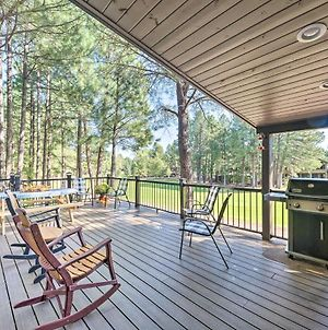 Dog-Friendly Home With Deck On Pinetop Lakes Course! photos Exterior