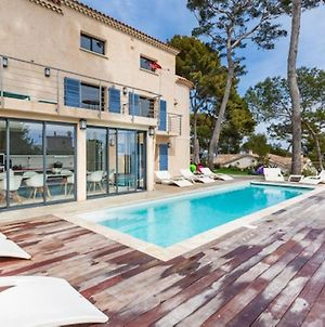 House With 3 Bedrooms In Antibes With Wonderful Sea View Private Pool Enclosed Garden photos Exterior