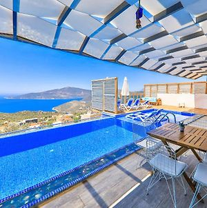 Villa With 3 Bedrooms In Kas With Wonderful Sea View Private Pool Enclosed Garden 3 Km From The Beach photos Exterior