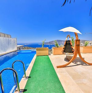 Villa With 5 Bedrooms In Kas With Wonderful Sea View Private Pool And Enclosed Garden 3 Km From The Beach photos Exterior