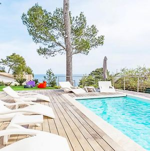 Villa With 5 Bedrooms In Antibes With Wonderful Sea View Private Pool Enclosed Garden photos Exterior