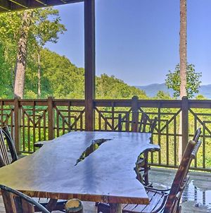 Burnsville Mtn Condo With Private Deck & Views! photos Exterior