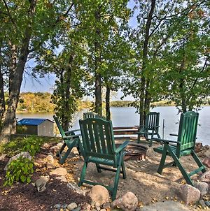 Waterfront Pequot Lakes Cabin With Dock & Sandy Beach photos Exterior