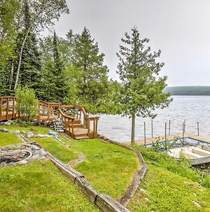 Chicagon Lakefront Cabin With Private Sauna & Dock Home photos Exterior