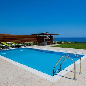 Luxury Rhodes Villa Beach Villa Sea View Private Pool 3 Bdr Lahania photos Exterior