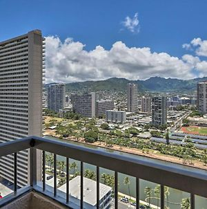 Chic High-Rise Waikiki Apt With City And Mtn Views photos Exterior