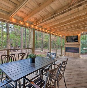 Modern Cabin With Luxury Deck & Private Hot Tub photos Exterior