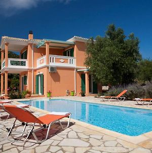 Villa With 3 Bedrooms In Lefkada With Private Pool And Enclosed Garden 2 Km From The Beach photos Exterior