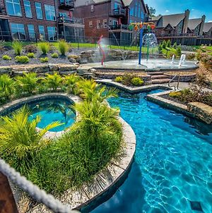 Watermill Cove Resort Luxury Lakefront Villa By Silver Dollar City Theatre Room Pool Lazy River photos Exterior