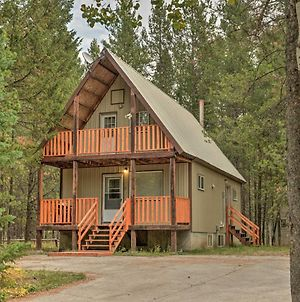 Family Cabin With Fire Pit, 25 Mi To Yellowstone photos Exterior