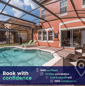 Home With Private Pool & Activities, Near Disney! photos Exterior