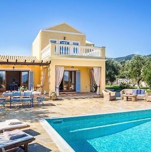 Karavomylos Villa Sleeps 6 With Pool Air Con And Wifi photos Exterior