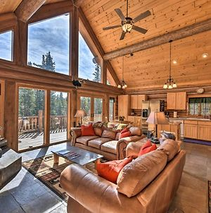 Rustic And Roomy Fairplay Cabin With Hot Tub! photos Exterior