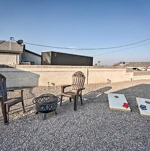 Havasu Home With Fire Pit & Grill Less Than 3 Mi To Lake photos Exterior