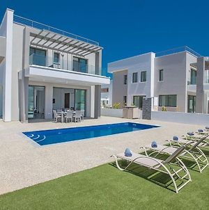 Villa Ellinon Brand New Luxury 3Bdr Pernera Villa With Private Pool photos Exterior