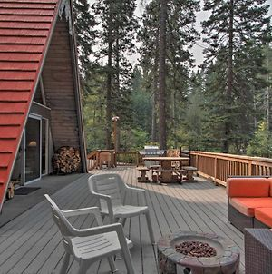 Woodsy A-Frame Chalet - Walk To Cle Elum Lake photos Exterior