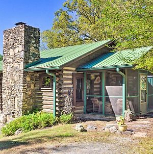 Rustic-Yet-Cozy Cabin With Views, 12Mi To Asheville! photos Exterior