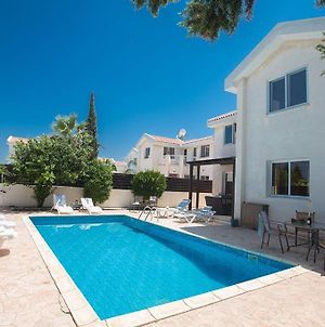 Villa Protaras Eos Modern 3Bdr Protaras Villa With Pool Short Walk To All Beachresort Centre photos Exterior