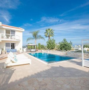 Villa Protaras Loux Stylish 3Bdr Protaras Villa With Pool And Stunning Sea Views photos Exterior