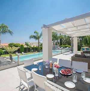 Villa Protaras Sunshine Stylish 4Bdr Villa With Pool Close To Fig Tree Bay Beach photos Exterior