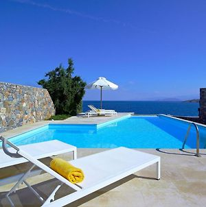 Luxury Crete Villa Sea View Villa Private Pool Ocean Front 3 Bdr Nikolaos photos Exterior