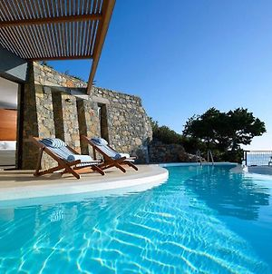 Luxury Crete Villa Villa Daphne Private Pool Ocean Front 1 Bdr Nikolaos photos Exterior