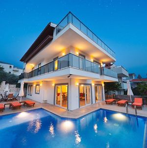 Villa With 5 Bedrooms In Kalkan With Wonderful Sea View Private Pool Terrace photos Exterior