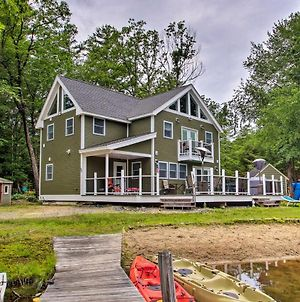 Waterfront Home With Dock By Little Squam Lake! photos Exterior