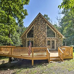 A-Frame With Mtn Views 1 Mile To Whitetail Resort! photos Exterior