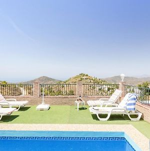 Villa With 2 Bedrooms In Competa, With Wonderful Sea View, Private Pool, Enclosed Garden - 18 Km From The Beach photos Exterior