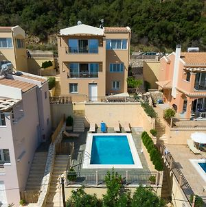 3 Bedroom Villa With Private Pool And Sea Views, Barbati, Corfu photos Exterior