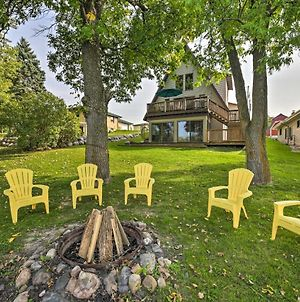 Rock River Waterfront Cabin - Dock & Game Room photos Exterior