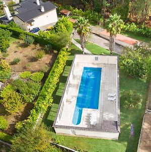 Mansion With 7 Bedrooms In Valenca With Wonderful Sea View Private Pool Enclosed Garden 32 Km From The Beach photos Exterior